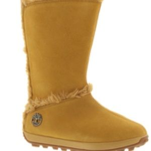 Brand new women's Timberland suede boot. Size 8.5